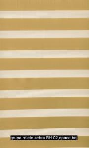 grupa rolete zebra BH 02,opace,bej