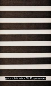 grupa rolete zebra WOOD- BH 16,opace,maro